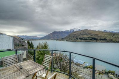 Deck looking towrds the Remarkables