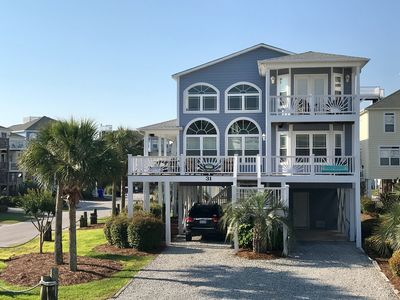 Photo for Family-Friendly Beach Home w/Membership to Community Pool on Big corner lot,