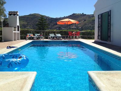 Photo for Peaceful villa minutes from Competa with private pool, free wi-fi and air con.