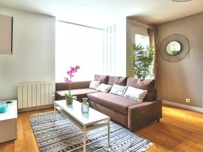 Photo for Buttes Chaumont, family apartment