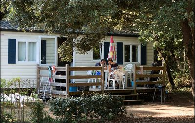 Photo for Camping Les Biches ***** - Mobile home 4 Rooms 6 People