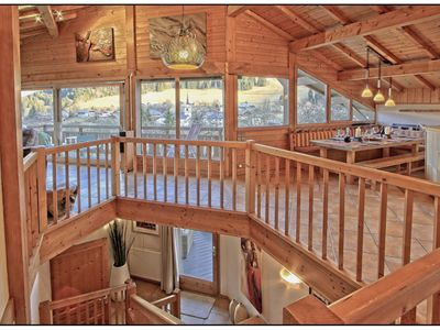 Photo for Chalet Serein, Fabulous Living Space, Jacuzzi/Sauna,12 mins Morzine