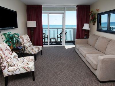 Photo for Camelot by the Sea 1701, 3 bedroom Ocean Front condo with great amenities