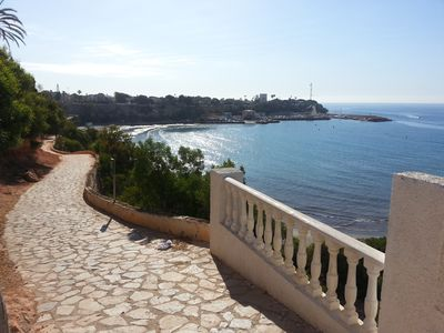 Photo for Apartment for rent on the popular Cabo Roig strip, sleeps four.
