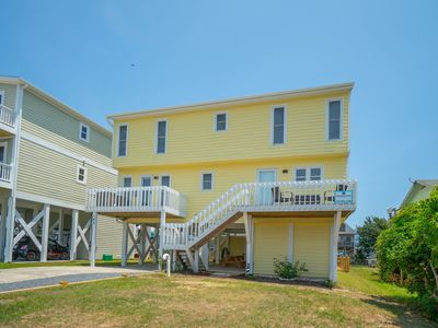 Photo for WHAT A WEEK AT HOLDEN BEACH FOR $2K!!  A SHINING STAR 4U2 SEA -  NEW TO THE RENTAL MARKET FOR 2019.  VIEWS ABOUND FROM CANAL TO MARSH - BRING YOUR BOAT!