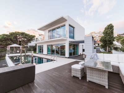 Photo for Villa Madeira - for max 6 people - heated pool overlooking the Atlantic