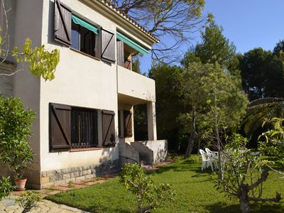 Photo for Villa Rustic very well situated next to the resort and the beach