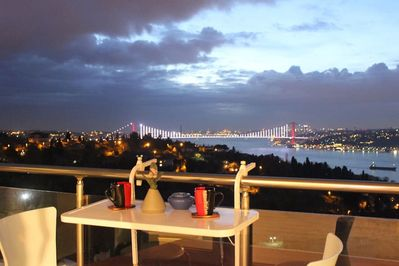 Enjoy one of the best Bosphorus views in the city at the comfort of home.