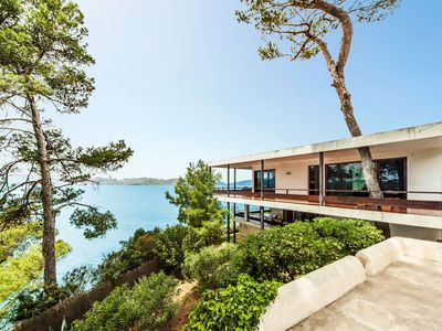 Photo for Spectacular location directly on the sea – Villa Es Balco