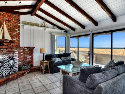Photo for Luxury Oceanfront 3 Bed/2 Bath Home on the Sand! Newly Remodeled & Furnished!