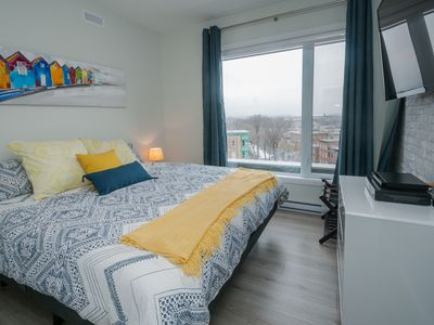 Brand new condo with parking, elevator, terrasse and gym