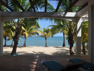 Photo for Newly Updated Oceanfront Private House In Hopkins, Belize