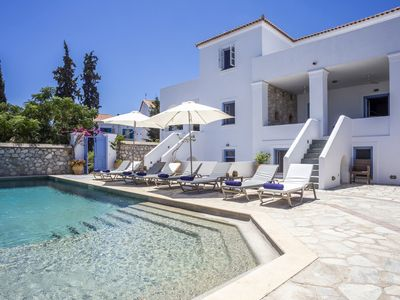 Photo for Spetses, Traditional Villa w/pool recently refurbished to a high standard
