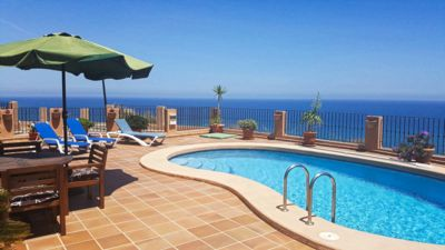 Photo for Detached villa with fantastic views and a private swimming pool.