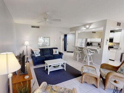 Photo for 1 Min Walk to Pool/Beach - Sleep Number Bed - Clean, Comfortable and Convenient First Floor Villa
