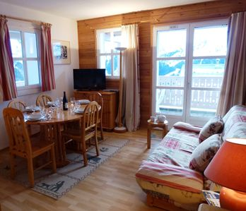 Photo for 1BR Apartment Vacation Rental in Flaine, Haute-Savoie