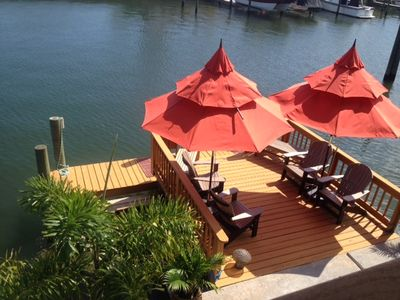 Photo for Waterfront  Honeymoon Island Beach House Villas - Your Home away from Home