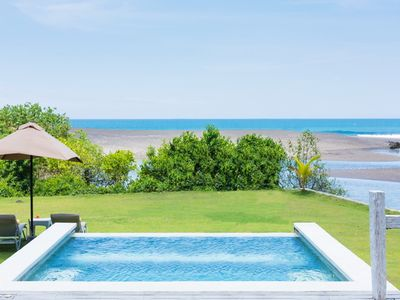 Photo for Enjoy Sunset at This Traditional Beachfront Wooden Villa in Canggu, 2 Bedrooms