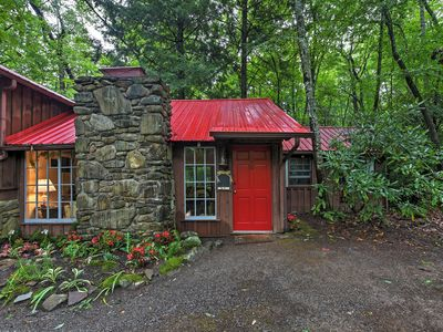 Photo for Serene Creekside Cottage Near Asheville w/Fire Pit