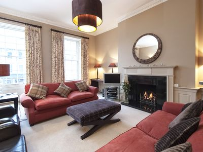Photo for 5* luxury apartment in central Edinburgh - The Robert Louis Stevenson Suite