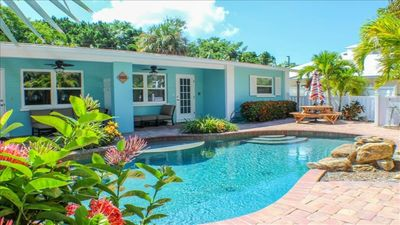 Photo for Anna Maria Villa with Heated Pool, Steps to the Beach