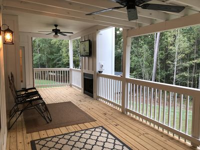 Photo for Woodstone Retreat (Masters Rental, Minutes to the Course)