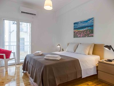 Photo for Perfect choice for a comfortable and practical long stay or short visit in Athens