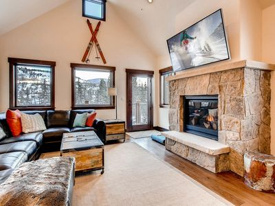 Photo for TurnKey - Silverbourne: 3BR/3BA Silverthorne Condo w/ Mountain & River Views