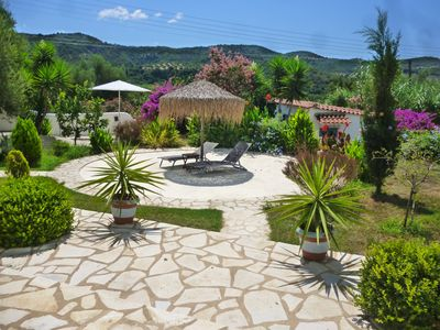 Photo for Lemon Tree Cottage : Relax in your own house and garden just 5 min to Finikounda