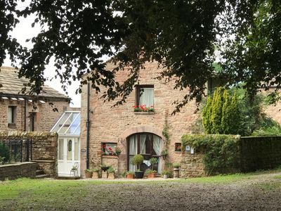 Photo for 18th Century Coach House just below historic Brough Castle in The Eden Valley