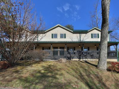Photo for Beautiful 10 bedroom chalet! Packed full of fun for family and friends!