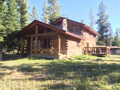 Photo for Hideaway Haven! Secluded Cabin Nestled Against The Routt National Forest.