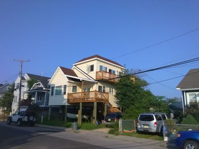 Photo for 2 Bedroom Coastal Home With 360 Degree Rooftop Deck ~ Outstanding Views!