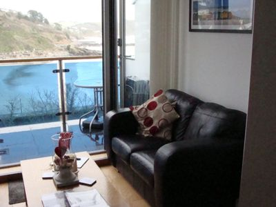 Photo for Great Looe Flat With Amazing Sea Views