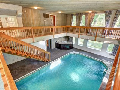 Photo for Large family home with indoor pool