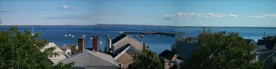 Spectacular Harbor Views from 40' private deck
