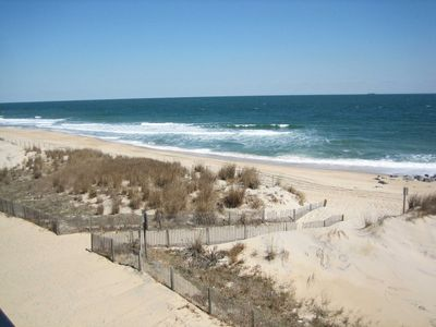 Photo for Serene two bedroom condo, located in uptown Ocean City on the beach, with internet access to boot!