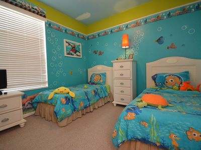 Photo for Windsor Palms resort 2 miles from Disney, Heated POOL Gym, full kitchen, patio