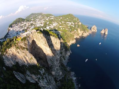 Photo for Top of the Rock - best destination in Capri :)