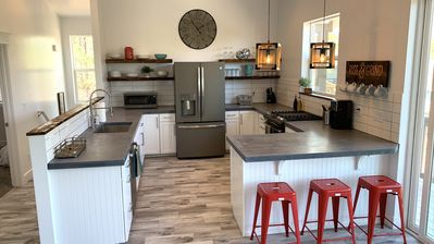 Photo for Downtown Brand New Modern Mountain Home- Large Groups Welcome!