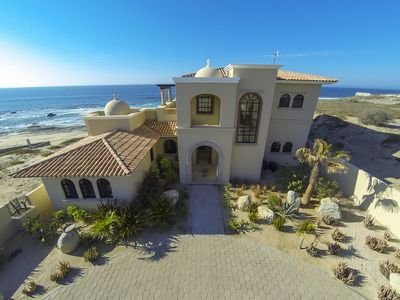Photo for Cabo~ East Cape Dream Home ~ Oceanfront and next to Shipwrecks famous surf Spot!