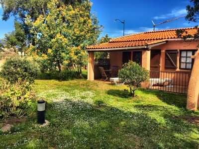 Photo for Charming little house 2/4 people 700 m from the beautiful beach of St Cyprien