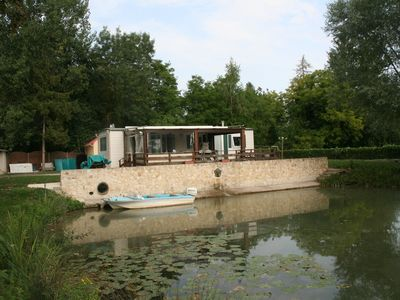 Photo for MOBIL HOME + ETANG PECHE