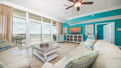Photo for **Park on the same Floor as this Beautifully Decorated 3 BR Condo is located!
