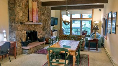 Photo for Luxury Condo w/FREE WiFi, Parking, Heated Pool, Hot Tubs, Skier Shuttle