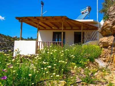 Photo for 1BR Cottage Vacation Rental in Agios Stefanos, Crete
