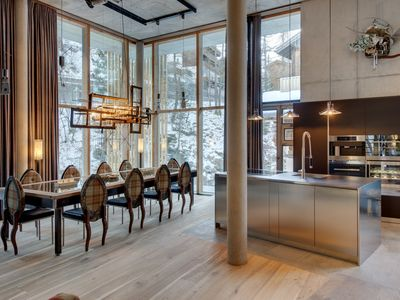 Photo for BACKSTAGE LOFT ZERMATT - Luxury 5 Bedroom Catered Ski Chalet - amazing location