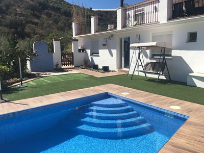 Photo for Luxury Modern 4 Bed 4 Bath Family Villa with Private Pool, AirC and Wifi Torrox