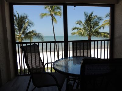 Photo for Luna Sea is a stunning 2br/2ba oceanfront condo located on Ft Myers Beach, F