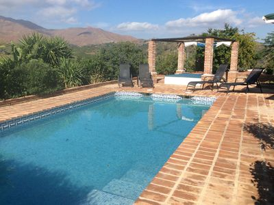 Photo for A Large 4 Bed 4 Bath Finca With Pool And Stunning Views, Set In Its Own Grounds